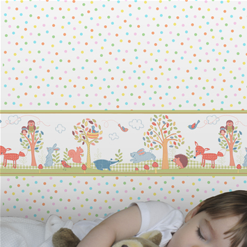 Buy wallpaper borders floral borders motif kids for Wallpaper borders for your home