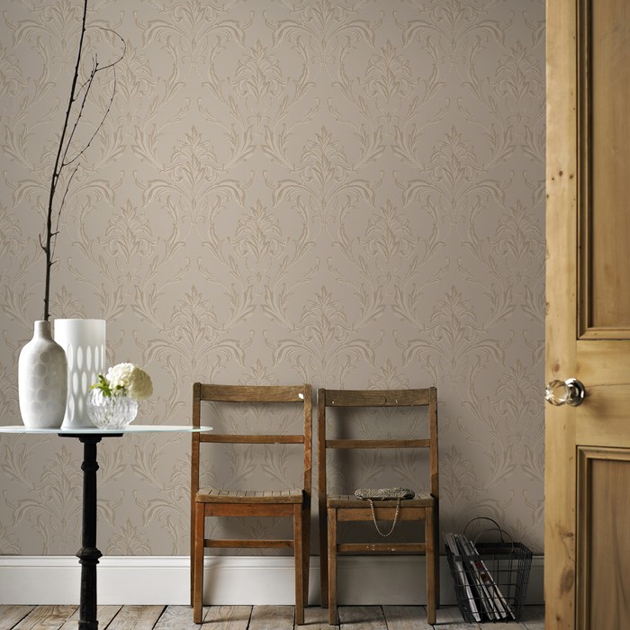 Graham And Brown Oxford Beige Gold 20 850 Wallpaper