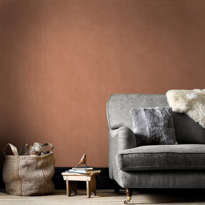 Graham and brown tranquil copper 33 342 wallpaper for Cheap plain grey wallpaper