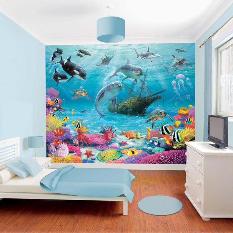 Wall Murals Walltastic Sea Adventure 43190